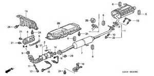 2001 Honda Crv Exhaust System Diagram 2001 Honda Cr V Exhaust Diagram 2001 Free Engine Image