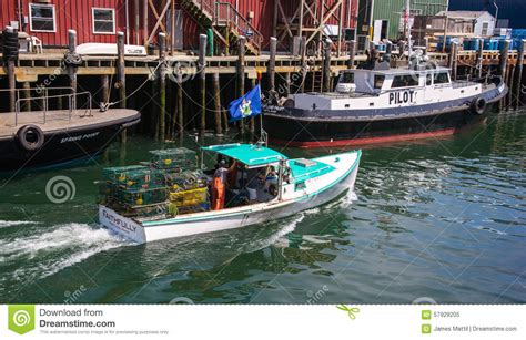 lobster fishing boat images lobster fishing boat editorial image image 57929205