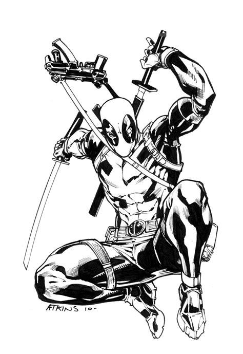 75 Dessins De Coloriage Deadpool 224 Imprimer