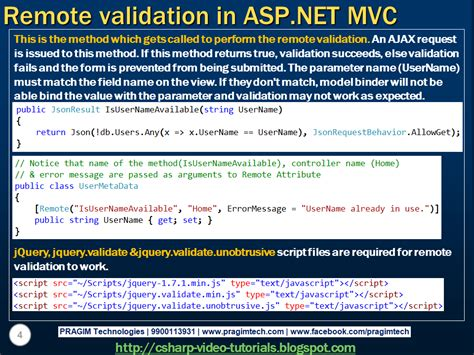 validation pattern in asp net sql server net and c video tutorial part 89 remote