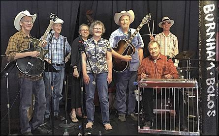 lost weekend western swing band don burnham calendar