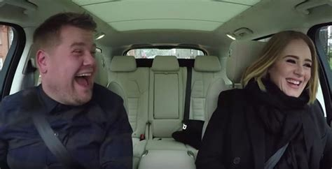 james corden and adele relationship adele covers the spice girls in her carpool karaoke with