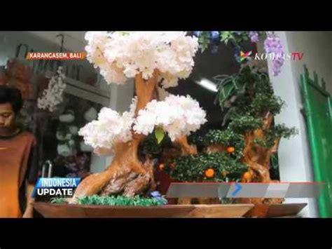 Lu Hias Dari Kayu kreasi unik kerajinan bunga hias dari limbah kayu