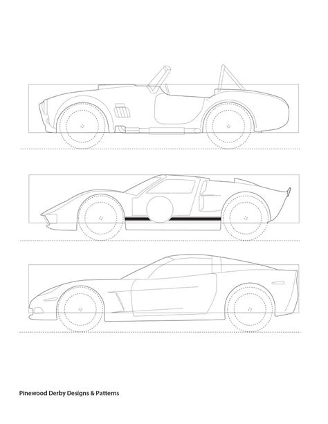 templates for pinewood derby cars free 39 awesome pinewood derby car designs templates ᐅ