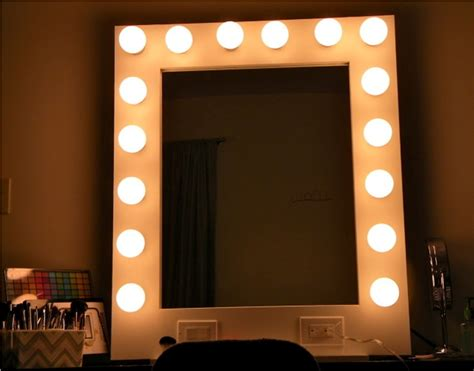 Bedroom Mirrors With Lights Table Top Vanity Mirror With Light For S Bedroom Doherty House
