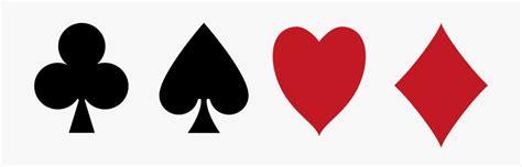 poker clipart card symbol poker card symbol transparent
