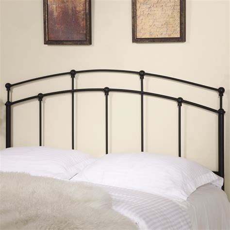 iron bed headboards coaster iron beds and headboards 300190qf full queen black