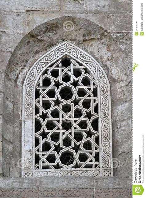 masjid window design islamic window stock photo image of pattern stone
