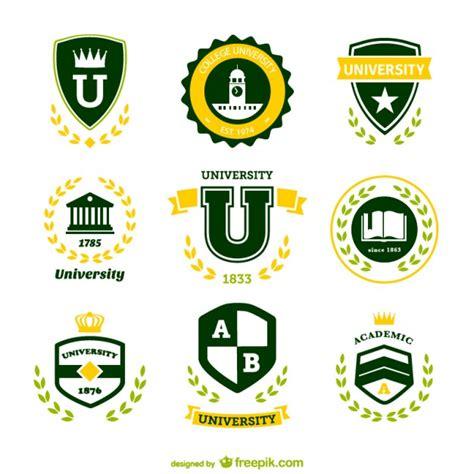 green university logos vector