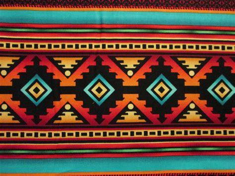 navajo pattern background navajo teal border traditional native american print