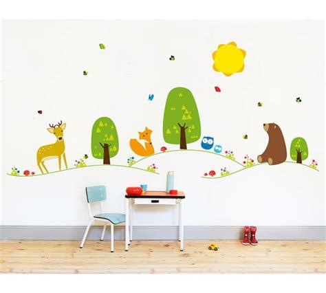 Kinderzimmer Gestalten Waldtiere by Babyzimmer Gestalten S 252 223 E Tier Muster F 252 R Ihre Kleinen