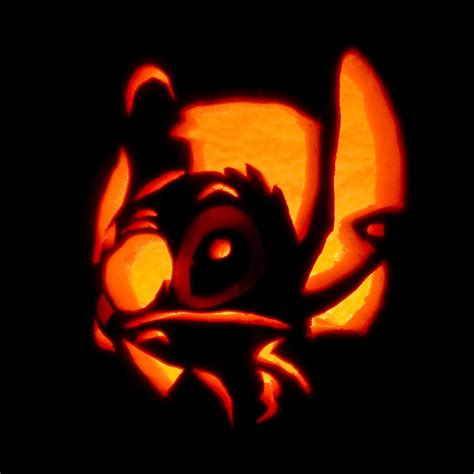 stitch  lantern  carving  begun