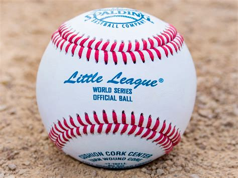official little world of little league baseballs gopher sport