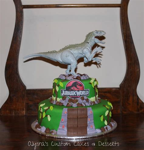 Jurassic Park Cake Decorations by Jurassic Park Cake Cakecentral