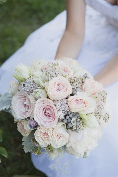 grey and pale pink wedding best 25 peony bridal bouquets ideas on