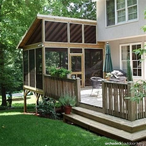 25 best ideas about screened in porch cost on