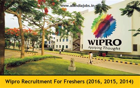 For Freshers Mba In Hyderabad by Wipro Recruitment 2018 2019 Openings For Freshers
