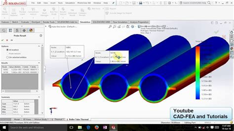 solidworks tutorial heat transfer tutorial solidworks thermal analysis boiler tube furnace