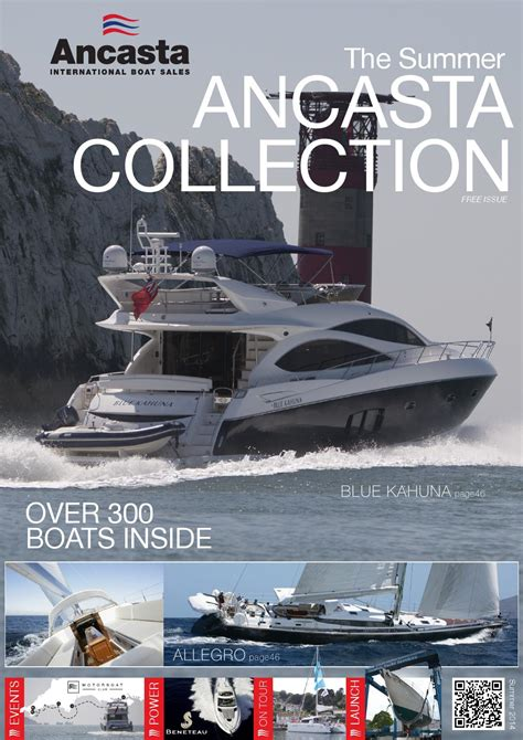 ancasta international boat sales 2014 the ancasta summer collection by ancasta