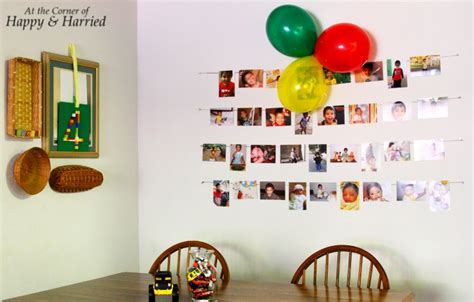 Birthday Home Decoration by Simple Birthday Decor At The Corner Of Happy And