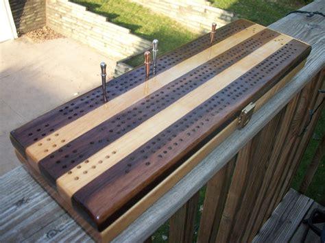 cribbage board  card storage  rhans