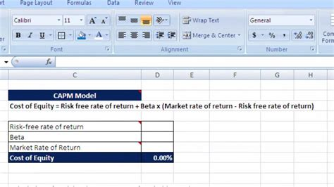 Credit Default Pricing Formula How To Calculate Wacc Cost Equity And Debt