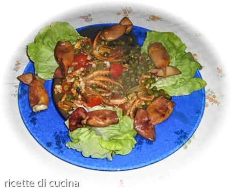 cucinare totani totani con piselli ricette di cucina