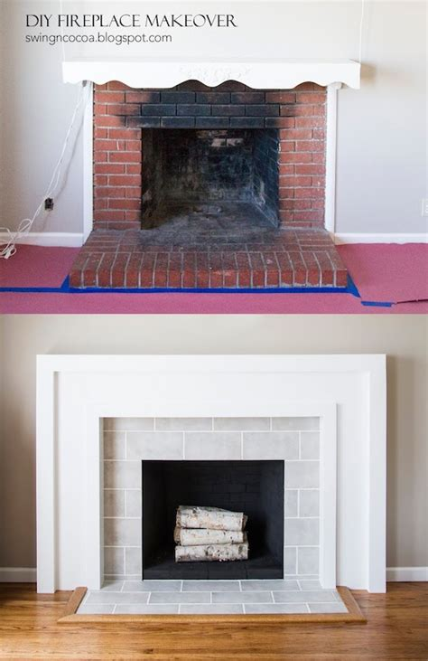 Fireplace For Your Home by 27 Easy Diy Remodeling Ideas On A Budget Before And After Photos