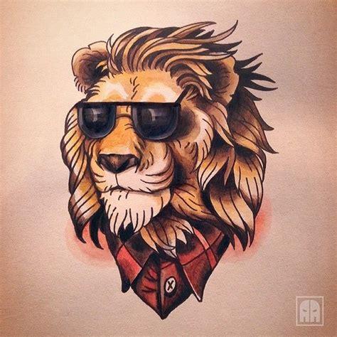 tattoo old school corona best 25 traditional lion tattoo ideas on pinterest lion
