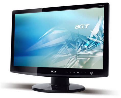 Tv Lcd Acer acer h235h hd lcd tv with vga dvi