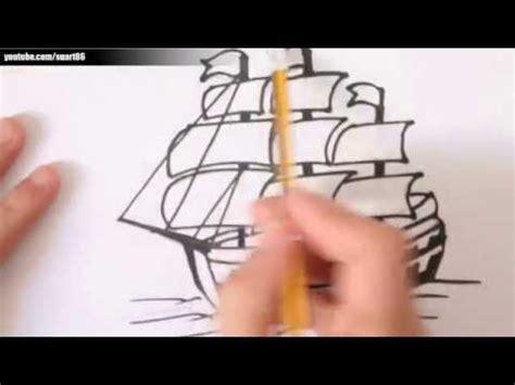 imagenes de un barco para dibujar a lapiz como dibujar un barco paso a paso youtube
