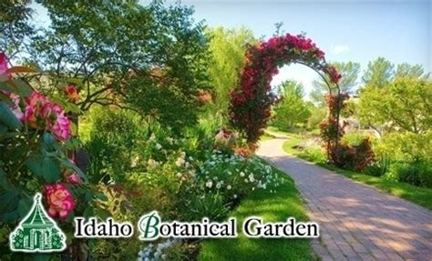 Botanical Garden Boise Idaho Idaho Botanical Garden East Boise Cultural Attractions Event Centers Places