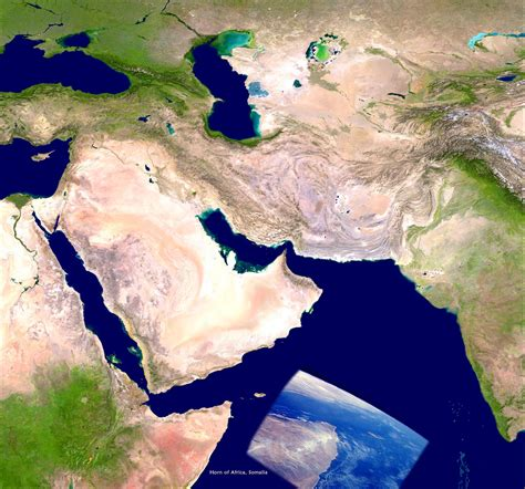 satellite map of middle east middle east satellite map middle east map