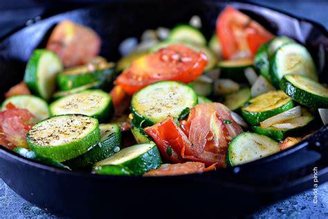 zucchini dish recipes skillet zucchini recipe add a pinch