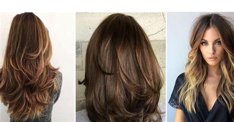 como cortarse el cabello en capas largas cortes de cabello con capas largas 161 luce una melena con