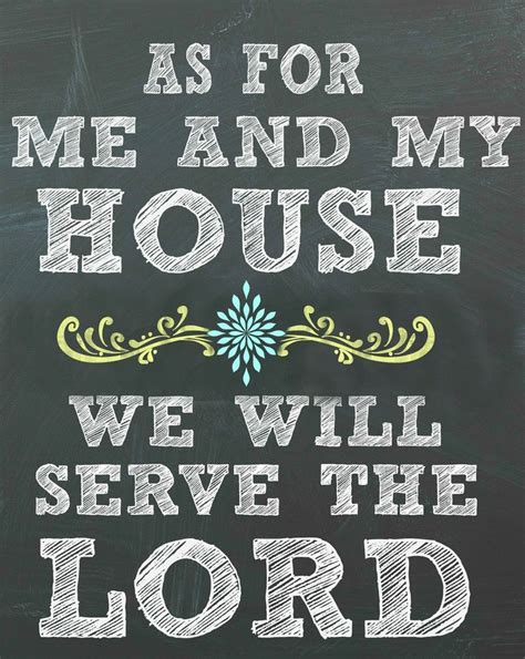 as for me and my house free printable version as for me and my house we will serve the lord 5 color choices