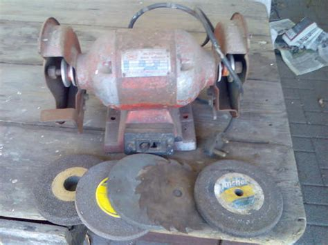 hb tools bench grinder other power tools hb bench grinder was sold for r125 00 on 7 may at 15 01 by