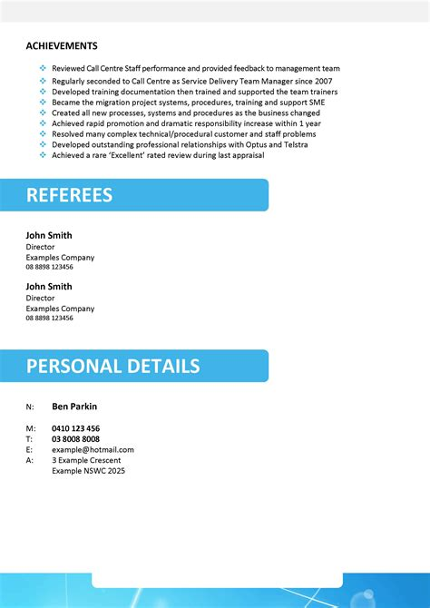 High School Resume Profile Exles by School Leaver Resume Free Excel Templates