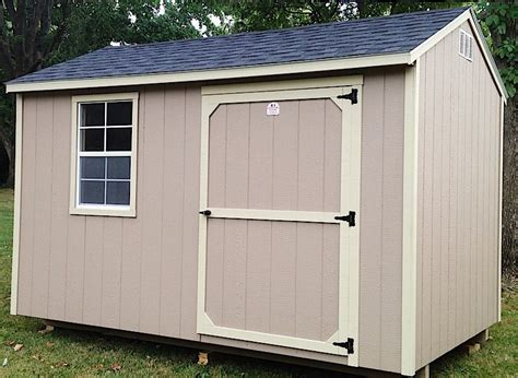 Painted Garden Sheds by Garden Shed Show Me Outdoor Products