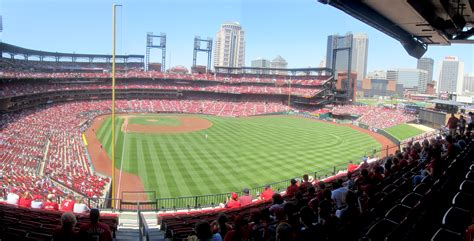 section 130 busch stadium cook son stadium views busch stadium iii