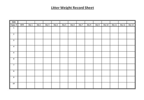 puppy weight chart template buy essay papers here cattle business plan