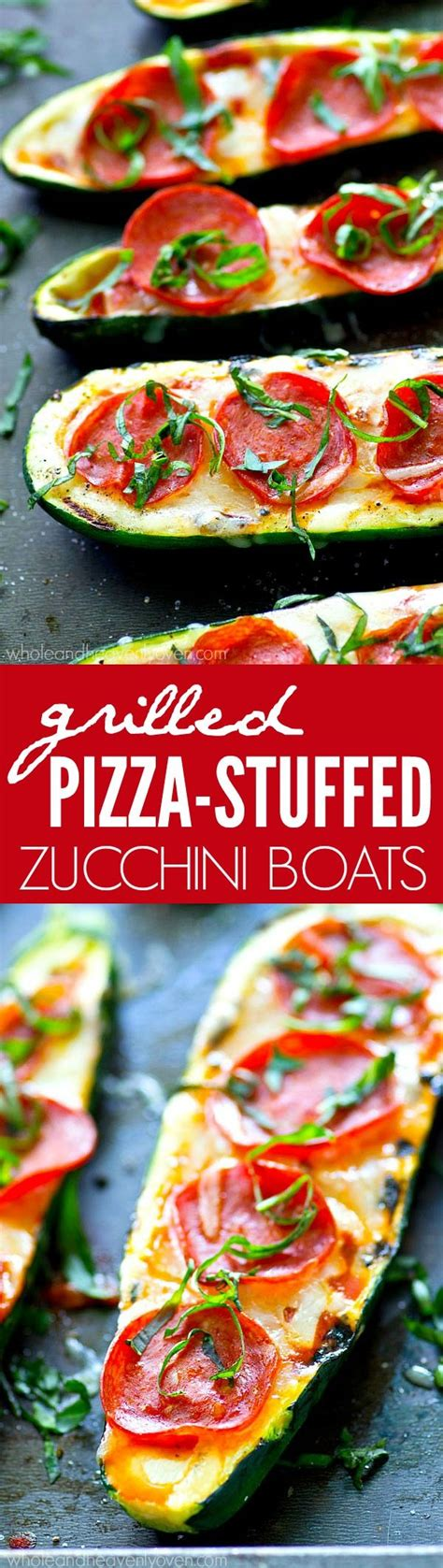 slender kitchen zucchini pizza boats 25 best ideas about grilled zucchini boats on pinterest