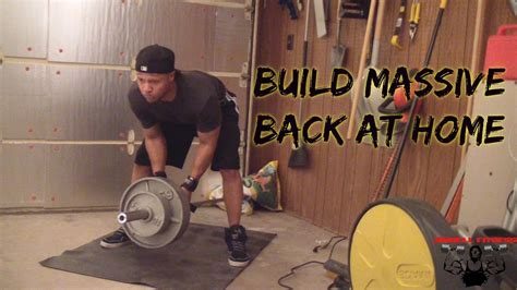 build a back at home 5 exercises for mass
