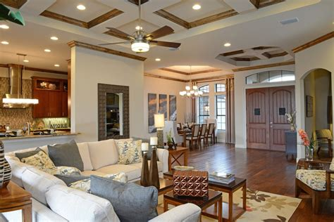 sisler johnston interior design completes ici homes bellevue model home at plantation bay