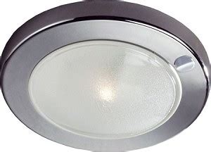 12 Volt Ceiling Light 12 Volt Led Light 10 30vdc Frilight 8716 Saturn Surface Mount With Switch White Or Chrome