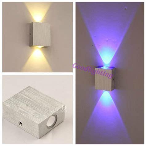 bedroom reading wall lights modern 2w led wall light ac85 265v high quality restroom
