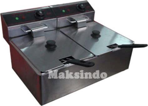 Alat Penggoreng Gas Fryer Gas 2 Basket Ta Berkualitas mesin fryer listrik penggoreng serbaguna terbaru toko mesin maksindo