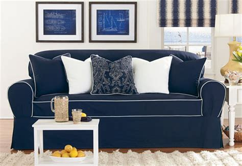 navy blue slipcovers sure fit slipcovers review