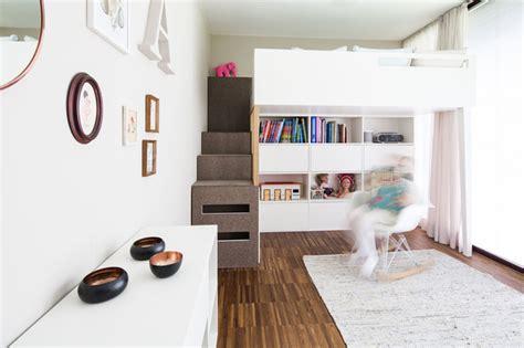 Kinderzimmer Gestalten Skandinavisch by M 228 Dchenzimmer Hochbett Skandinavisch Kinderzimmer