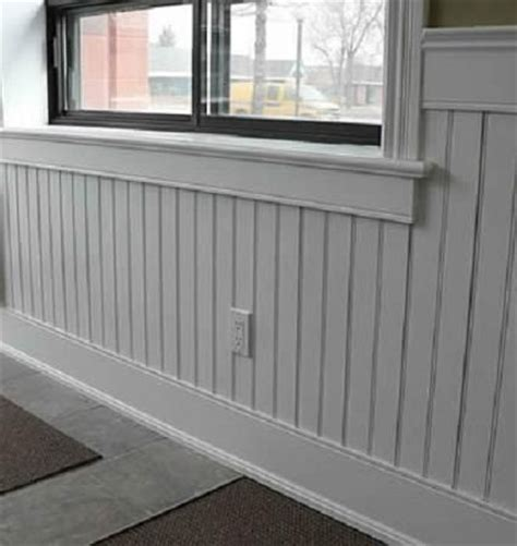 beadboard wainscoting height beadboard pvc wainscoting for the